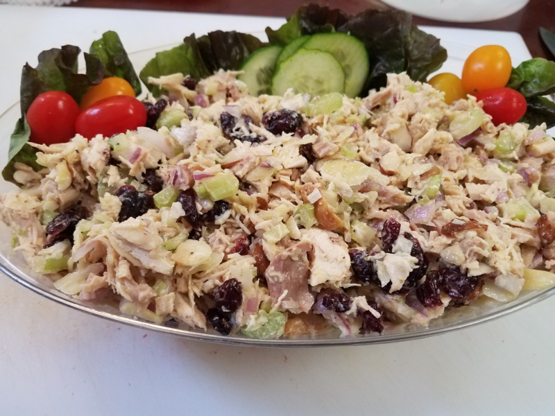 Chicken Salad w/ Cranberries & Almonds