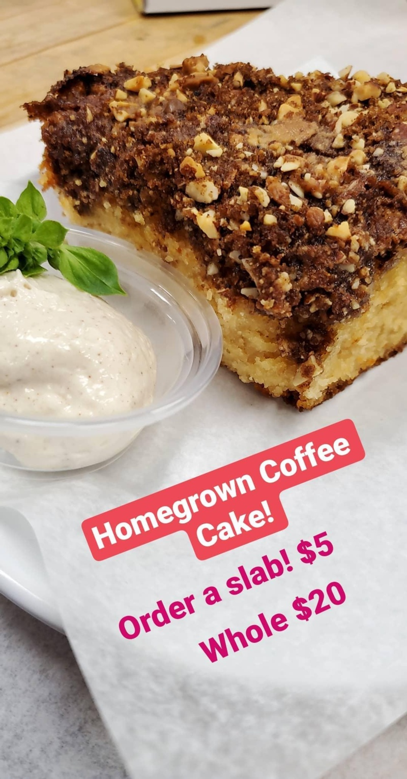 Homegrown Coffee Cake